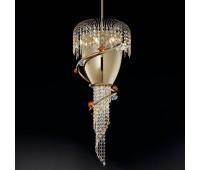 Подвесной светильник IDL 439/9 Light gold  Светлое золото (пр-во Италия)