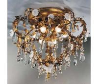 Потолочная люстра  Gallo M 448  Золото (пр-во Италия)