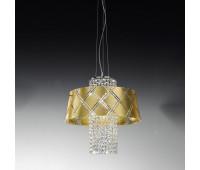 Подвесной светильник Metal Lux 195.140.71  Хром,прозрачный (пр-во Италия)
