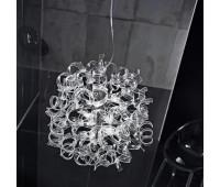 Подвесной светильник Metal Lux 206.170.01  Хром,прозрачный (пр-во Италия)