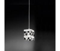 Подвесной светильник IDL 399/1S Chrome-Black  Хром (пр-во Италия)