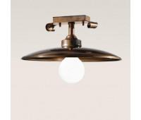 Потолочный светильник  Cremasco 384/1PL-BR-BOM-36  Бронза (пр-во Италия)