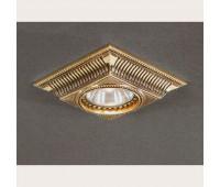 Точечный светильник Reccagni Angelo SPOT 1084 Oro  Французское золото (пр-во Италия)