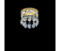 Встраиваемый светильник Faustig 01001.2-1  Золото, прозрачный (пр-во Германия)