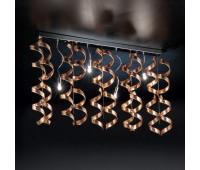 Потолочный светильник Metal Lux 206.254.14  Хром,бронзовый (пр-во Италия)