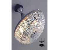 Потолочный светильник IL Paralume Marina 1820/CH ovale  Никель, прозрачный (пр-во Италия)