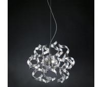 Подвесной светильник Metal Lux 206.140.15  Хром,серебряная фольга (пр-во Италия)