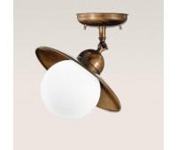 Потолочный светильник  Cremasco 440/1PL-BR-BOM-S18  Бронза (пр-во Италия)