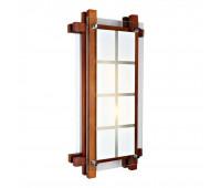 Настенно-потолочный светильник  Omnilux OML-40521-02  Грецкий орех (пр-во Китай)