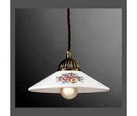 Подвесной светильник La Lampada SOSP 3112/1.40 *20 Maiolica Ceramica  Бронза (пр-во Италия)