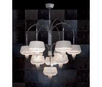 Подвесной светильник Rugiano 8050/9  Хром (пр-во Италия)