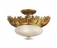 Потолочная люстра Possoni 701/4SF (002)  Французское золото (пр-во Италия)