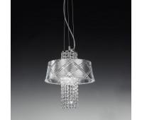 Подвесной светильник Metal Lux 195.140.72  Хром (пр-во Италия)