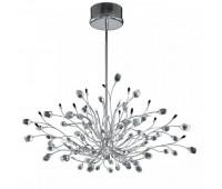 Подвесной светильник IDL 324/20S CLEAR-BL-CL-CH  Хром,прозрачный,черный (пр-во Италия)