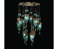 Подвесной светильник  Fine Art Lamps 718540-3ST  Сатинированная бронза (пр-во США)