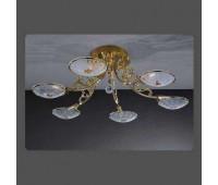 Потолочная люстра La Lampada PL 7257/6.26   Золото (пр-во Италия)