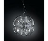 Подвесной светильник IDL 366/6S Transparent  Хром (пр-во Италия)