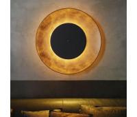 Настенно-потолочный светильник Fontana Arte 4246OO/N  Сусальное золото (пр-во Италия)