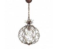 Подвесной светильник MM Lampadari 6739/1  Состаренная бронза (пр-во Италия)