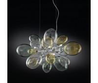 Подвесной светильник IDL 372/6S Multicolour  Хром (пр-во Италия)
