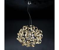 Подвесной светильник Metal Lux 206.155.13  Хром,золотая фольга (пр-во Италия)