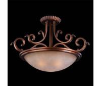 Потолочный светильник Bogate's 925/3  Коричневый (пр-во Италия)