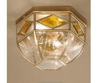 Потолочный светильник  Cremasco 3021/2PL-BR.cg  Бронза, орех (пр-во Италия)