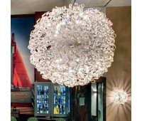 Подвесной светильник Metal Lux 206.615.02  Хром,белый (пр-во Италия)