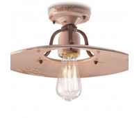 Потолочный светильник  Ferroluce C1445 VIC  Кремовый, коричневый (пр-во Италия)