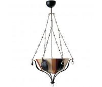 Подвесной светильник Baga, Patrizia Garganti 1070  Черный, ржавчина, никель (пр-во Италия)