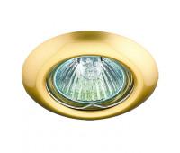 Встраиваемый неповоротный светильник Novotech  Novotech 369114  Золото (пр-во Венгрия)