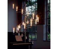 Подвесной светильник Robers HL 2630  Состаренная медь (пр-во Германия)
