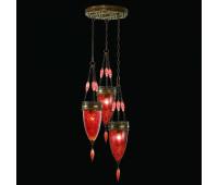 Подвесной светильник  Fine Art Lamps 608640-4ST  Состаренная бронза (пр-во США)