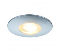 DEKLED светильник встраиваемый с PowerLED 1Вт, 3000К, 50lm, 45°, серебристый SLV 112242  (пр-во Германия)