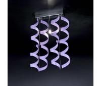Потолочный светильник Metal Lux 206.221.05  Хром,лиловый (пр-во Италия)