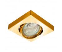 Встраиваемый светильник Feron  DL163  Золото (пр-во Китай)