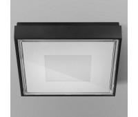Уличный настенно-потолочный светильник  Panzeri XQ144 - 02  Черный (пр-во Италия)
