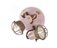 Спот  Ferroluce C1678/1 VIC  Винтажный розовый (пр-во Италия)
