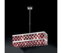 Подвесной светильник IDL 399/2SR Red-Chrome  Хром (пр-во Италия)