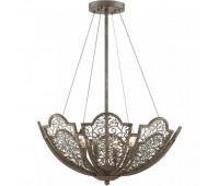 Подвесной светильник  Savoy House 7-8060-4-45  Латунь с коричневым (пр-во США)