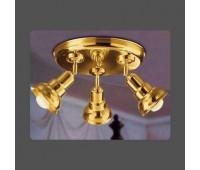 Потолочная люстра Moretti Luce ART 1077.D  Золото (пр-во Италия)