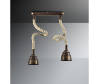 Потолочный светильник Favel 05293/00PL2  Бронза (пр-во Италия)