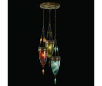 Подвесной светильник  Fine Art Lamps 608640-5ST  Состаренная бронза (пр-во США)