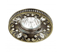 Встраиваемый светильник  Novotech 370235  Бронза (пр-во Венгрия)