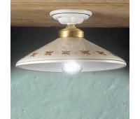 Потолочный светильник Ferroluce C059 PL  Белый, золото (пр-во Италия)
