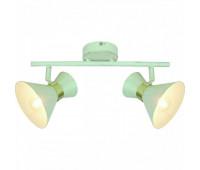 Спот  Arte Lamp A1406AP-2WG BALTIMORE  Бело-золотой (пр-во Италия)