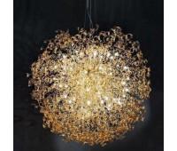 Подвесной светильник Metal Lux 205.620.06  Золото,янтарь (пр-во Италия)