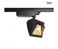 3Ph, MERADO FLOOD светильник 40Вт с LED 3000K, 3000лм, 115°, черный SLV 1001471  (пр-во Германия)