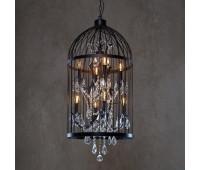 Подвесной светильник Loft IT LOFT1891/8  Матовый черный,прозрачный (пр-во Испания)