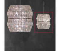 Подвесной светильник Rugiano W71/51 transparent  Хром (пр-во Италия)